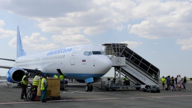 Canada announced new sanctions against Russian and Ukrainian individuals, military units and companies, including Dobrolet Airlines, the low-cost subsidiary of Russia's national air carrier Aeroflot.