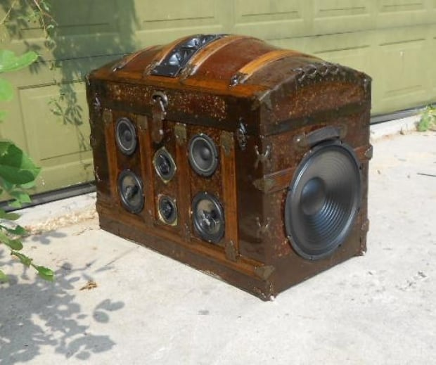 Steampunk Pirate Chest - Boom Baggage