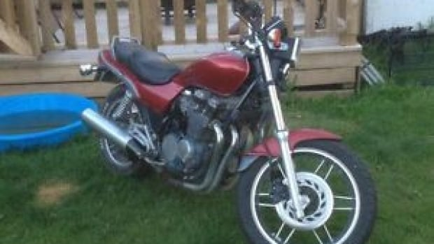 This motorcycle was stolen after it was posted for sale on Kijiji.