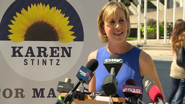 While still popular in her north Toronto ward, mayoral candidate Karen Stintz was polling in the single digits.