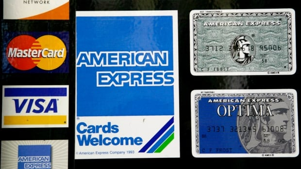 The Canadian Bankers Association keeps track of fraud with American Express, Visa, and Mastercard credit cards.
