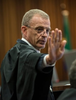 APTOPIX South Africa Pistorius Trial