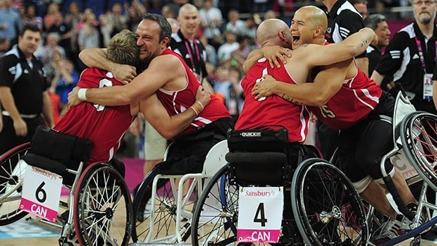 Canadian wheelchair basketball star David Eng, shown in this file photo at right, is featured in a video released one year out from the start of the 2015 Parapan American Games, held in Toronto.