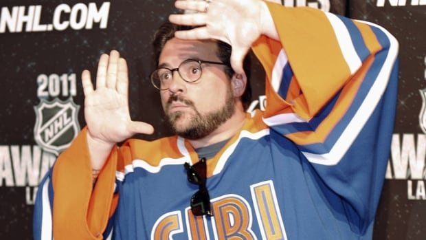 Director Kevin Smith, touting that his new TV comedy, Prons, is set 'in Gretzky's hometown,' hopes to film on location in Brantford, Ont.