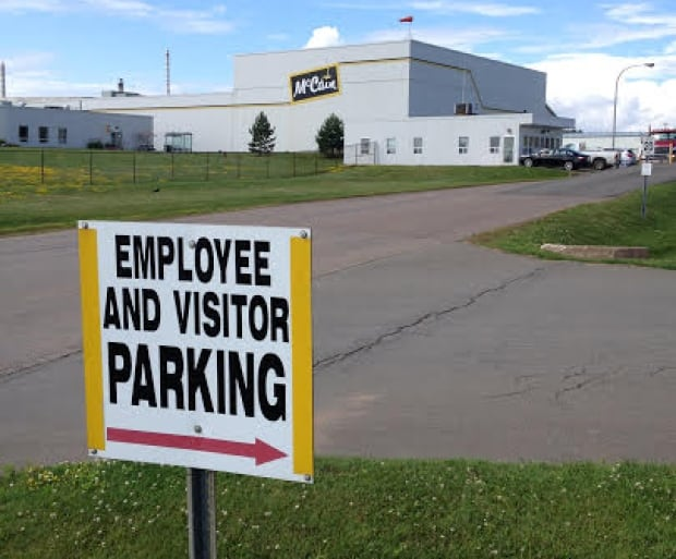 McCain french fry plant in Borden-Carleton