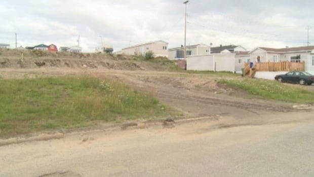 A section of vacant lots in Labrador City has some people in the neighbourhood upset, and saying the town should be doing more to maintain the area until someone buys it.