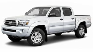 Bruce Rickman hit and run - Toyota Tacoma