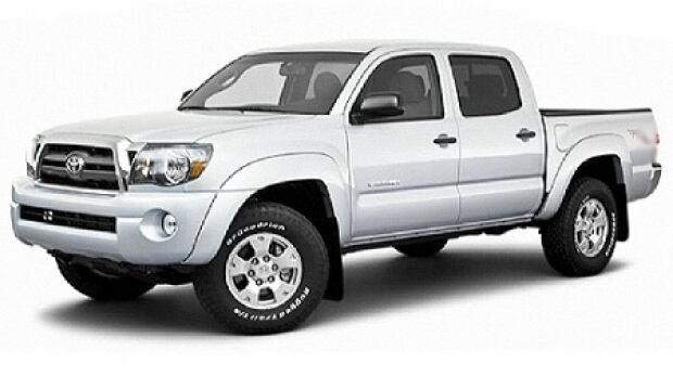 Bruce Rickman hit and run - Toyota Tacoma