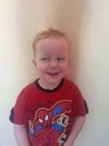 Missing 3-year-old from Kindersley