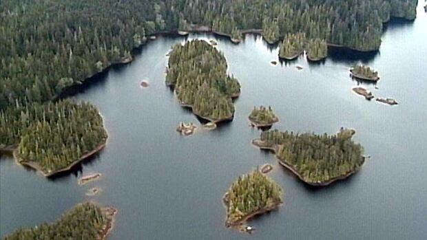 Haida Gwaii aerial