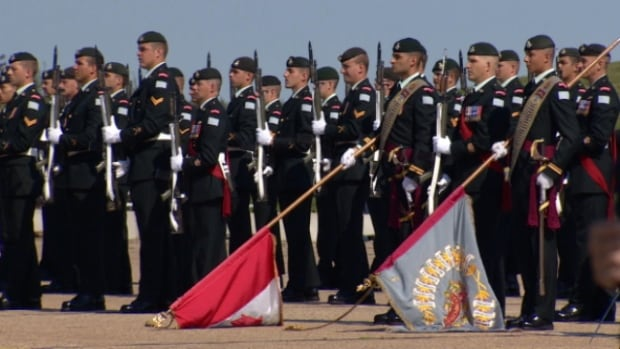 The Princess Patricia's Canadian Light Infantry hold a Regimental Centennial Parade at CFB Edmonton. Only 2.3 per cent of the combined regular force and primary reserves are aboriginal recruits; the target is 3.4 per cent. Culture shock is just one of the issues holding that number back.