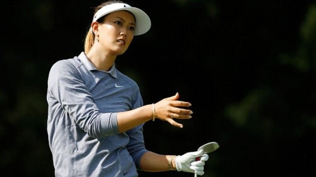 Michelle Wie has a finger injury that forced her to withdraw from LPGA Championship next week at Monroe Golf Club and will sideline her at three to five weeks.