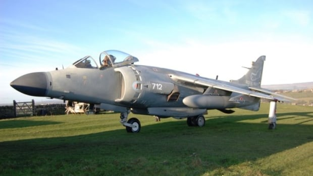 You can buy anything off Kijiji these days — including this Sea Harrier fighter jet. Ian Cotton is selling this one for $1.5 million on the online classified site.