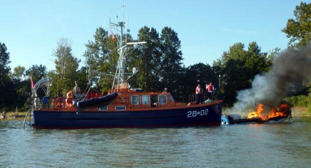 Steveston fish boat explosion