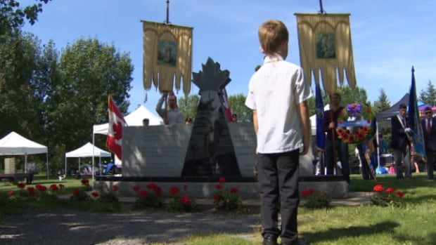The Ukrainian Cultural Heritage Village hosted a celebration of Ukrainian Day on Sunday.