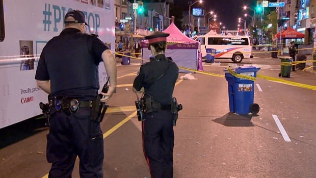 Toronto police are investigating a stabbing that happened in the early hours of Sunday morning, at the Taste of the Danforth.
