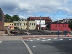 NB - former Paramount Theatre site Saint John
