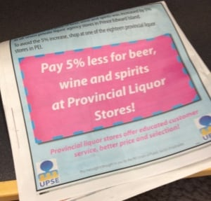 Ad campaign designed to protect liquor store jobs