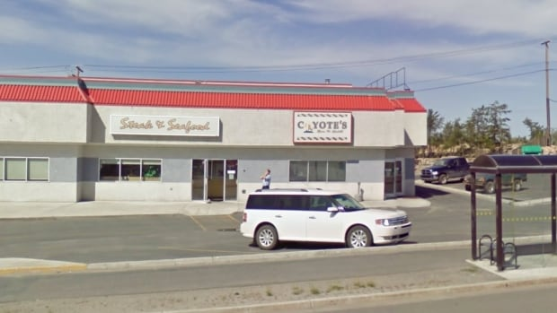 Coyote's Steakhouse & Lounge is on Yellowknife's Range Lake Road.