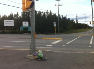 Memorial for Whitehorse car crash