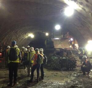 Ottawa Light Rail Tunnel Tour Pictures