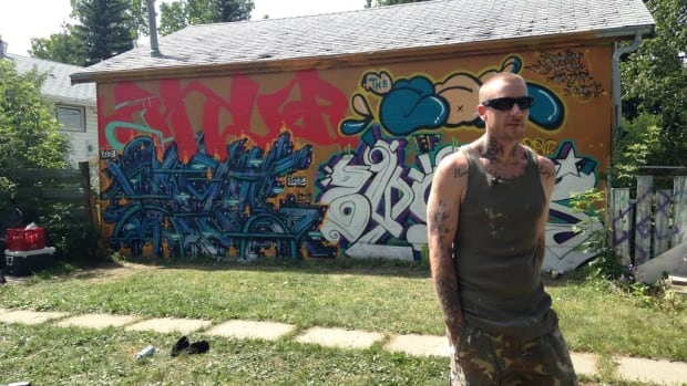 A Calgary graffiti artist is giving people a space to tag legally by hosting a graffiti jam every week in his backyard.