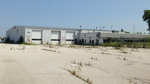 Allied Systems transport yard on Provinvial Road that was carried Chrysler minivans has been sold.