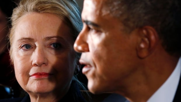 Hillary Clinton served as U.S. secretary of state to President Barack Obama. She is now weighing a 2016 presidential run, and appears to be distancing herself from her former boss on foreign policy issues.