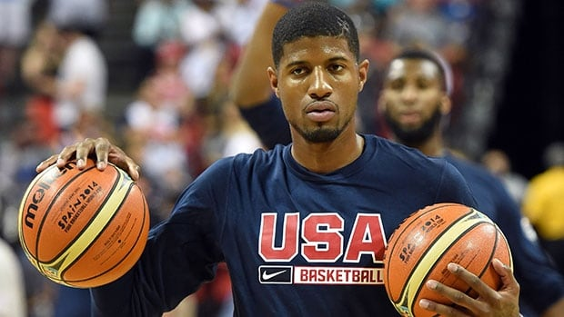 Paul George was seriously injured during a scrimmage with the U.S. national team.