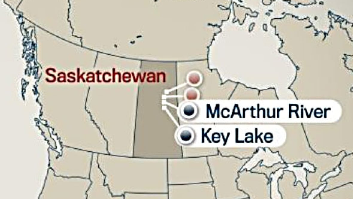 Map Of Centre Island And Mcarthur River