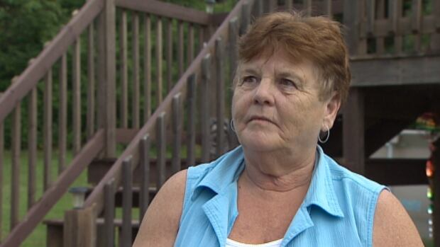 Gail Sinclair was put up in a hotel after a train derailed near her West River Station home