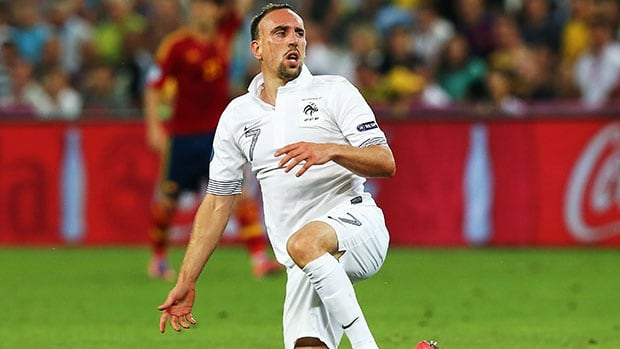 Franck Ribery has played 81 games for France, scoring 16 goals.