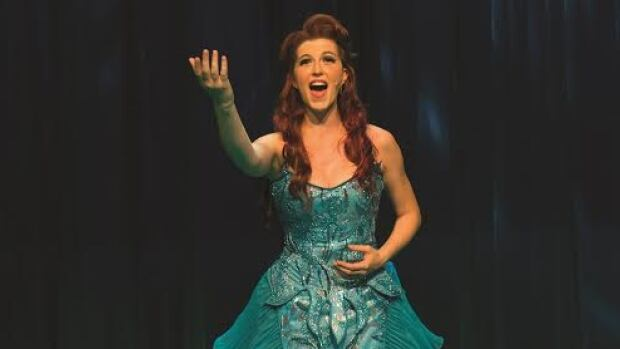 Colleen Furlan sings the role of Ariel in Little Mermaid