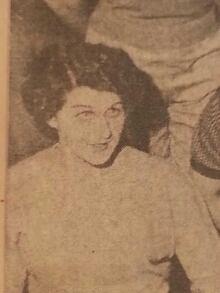 Scrapbook  photo of Myrna-Lou McGregor