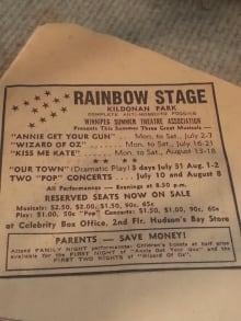 Scrapbook of singer Myrna-Lou McGregor