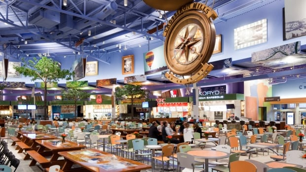 The CrossIron Mills food court will be moved to create new retail space at the mall north of Calgary.