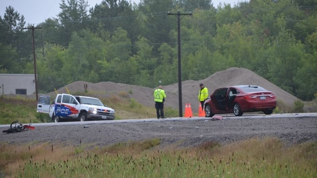 Sky Prince was operating a dirt bike that crashed into a car on MR 55 in Whitefish on Thursday morning, Sudbury police say. Prince died in the collision.