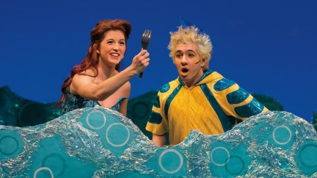 Little Mermaid forks out plenty of entertainment. Colleen Furlan as Ariel and Elliot Lazar as Flounder.