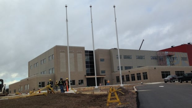 New Moncton High School Not Ready For Students Cbc News