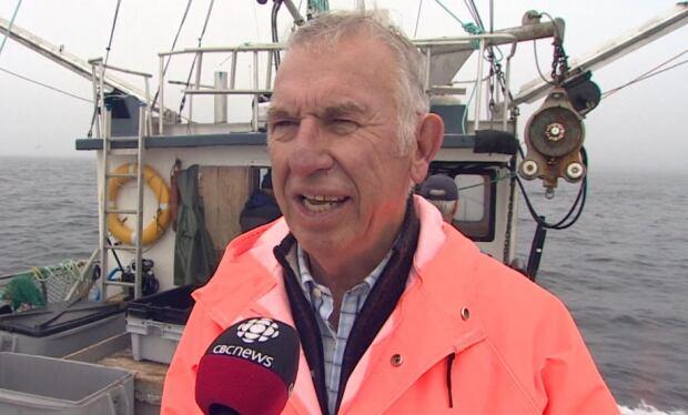 Gordon Slade, board member with the Shorefast Foundation