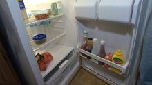 Lewis Kearney empty fridge