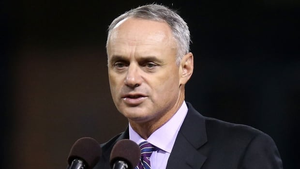 Rob Manfred, chief operating officer of Major League Baseball, has been elected its new commissioner and will succeed Bud Selig in January.