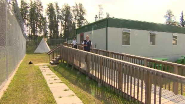 The larger First Nations and Metis Cultural Centre at Pine Grove Corrections Centre in Prince Albert took two years to build.