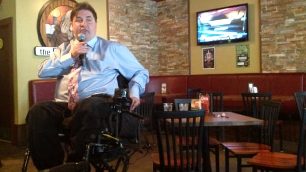 MLA Kent Hehr, who currently represents Calgary Buffalo, is hoping to be chosen as the federal Liberal candidate for Calgary Centre.