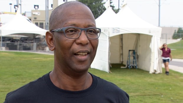 Reggaefest organizer Leo Cripps says they aren't concerned about having the Department of National Defence host an event just metres away from their festival, following a scheduling conflict.