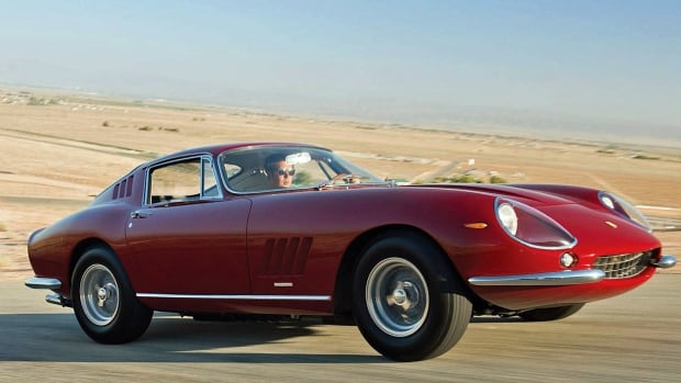Actor Steve McQueen had this Ferarri delivered while filming Bullet.