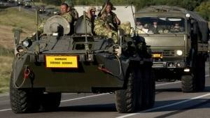 Russia Ukraine border