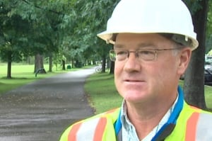 Fredericton Parks and Trees supervisor Robert Glenright