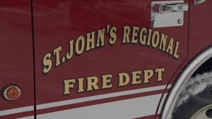 St. John's Regional Fire Department fire truck