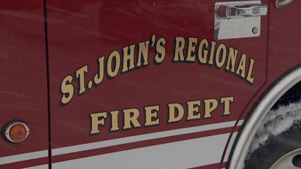 St. John's Regional Fire Department fire truck